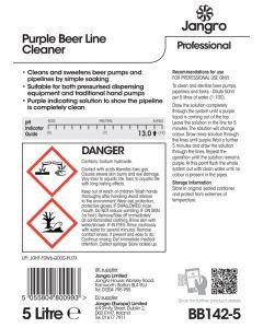 Purple Beerline Cleaner 5 litre
