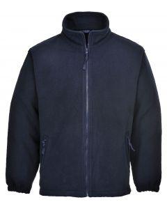 Aran Fleece Jacket, Dark Navy 2XL