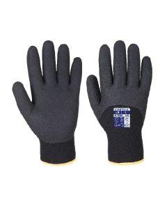 Arctic Winter Glove Nitrile Sandy Black Size 9/L