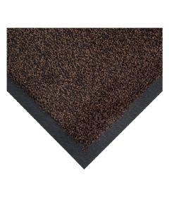 COBAWASH. Mat Black/Brown 115 x 175cm