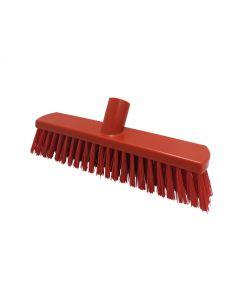 280mm Stiff Fill Sweeping Broom - Red